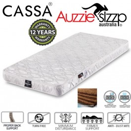 [12 Years Warranty] Australian Aussie Sleep 4 Inches Thick Baby Love 100% Coconut Fibre Baby Mattress (XL: 120X60cm/L: 120X50CM/M: 115X60CM/S: 98X55CM)