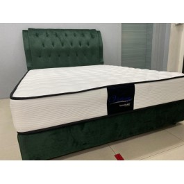 """Cassa Goodnite GREAT Luxury Firm 10"""" (With 1.5"""" Comfortable Top Rebond) Spinahealth Posture Spring Queen mattress only (10 Years Warranty)"""