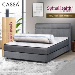 Goodnite Spinahealth [NEW TECHNOLOGY] Vacuum Sprung Free Eazy Rest 9 Inches Thick Queen/King/Single/Super Single High Tech Foam Mattress Only (10 Years Warranty)