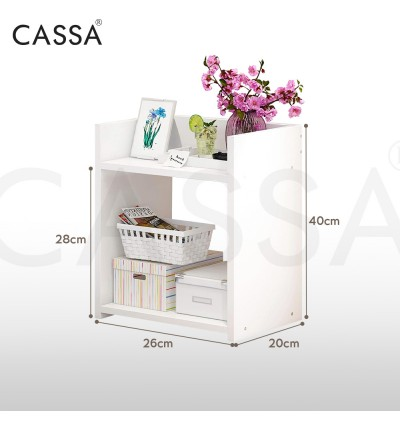 Cassa Nano End Table Modern Nightstand Sofa Side Table Chairside Bedside Table for Bedroom Office