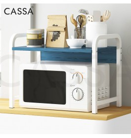 Cassa 2 Layer/ 3 Layer Olivewave Heavy Duty Thicker Steel Microwave Oven Rice Cooker Rack Multipurpose Office Kitchen Dapur shelf Organizer Storage