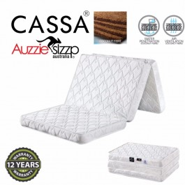 Australia Aussie Sleep Safe Space Foldable Single Mattress Coconut Fibre 100% +12 years Warranty