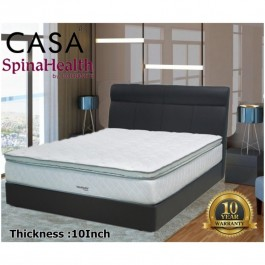 Goodnite 10 Thick Queen/King Rebonded Foam Plush Top Mattress Only Irefresh