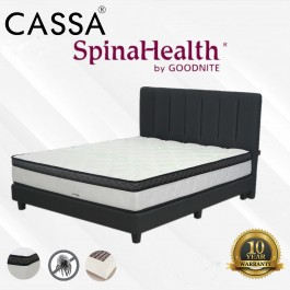 Spinalhealth by Goodnite 10 inch Posture Spring King/Queen Mattress Only 10 Year Warranty Idream