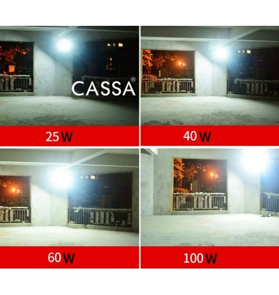 Cassa Hi Quality Led Solar [10W] Tempered Glass IP67 Waterproof Outdoor Spotlight Floodlight Fast Charging [ A-Level Solar Panel ] Usage Up to 8-12Hours Come with 180 Degree Rotation Bracket (1 Year Warranty) - Solar Green Renewable Energy Saving Lighting